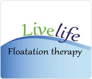 County Chiropractic Exeter, Live-Life-Floatation Therapy Logo