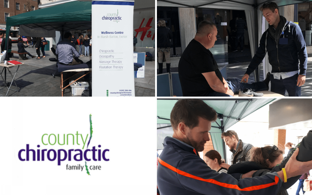 Free spinal and muscle health checks in Princesshay