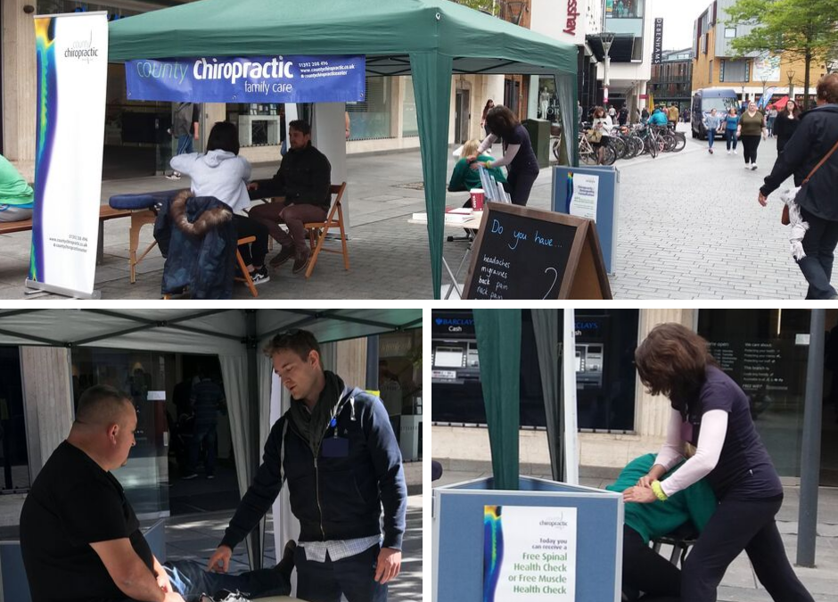 Final chance this year to meet the team in Exeter City Centre